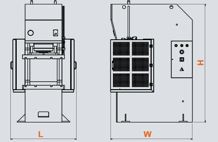 CFP C-Tipi Pres Hidrolik Doğrultma Presleri, Hydraulic Straightening Press