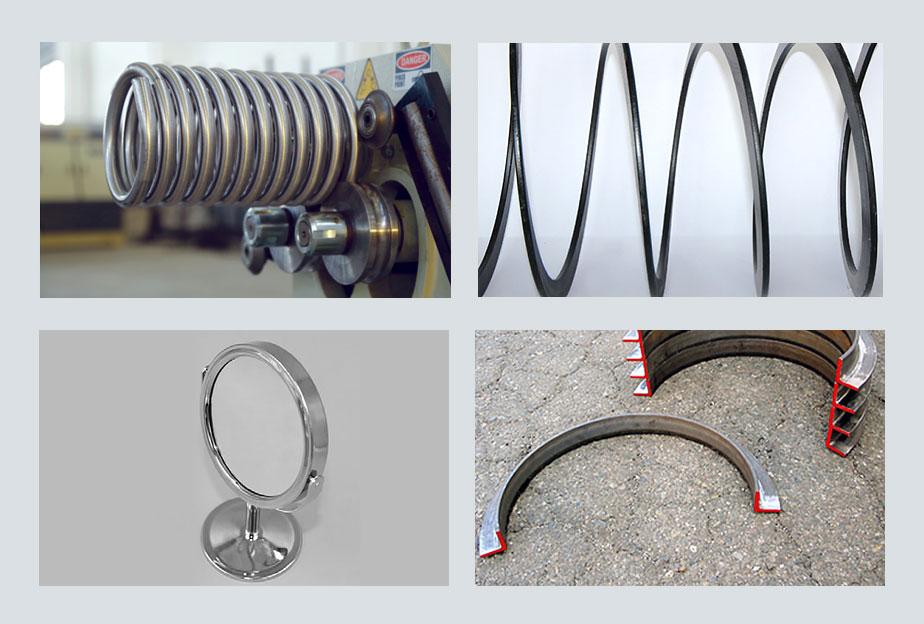 HPK 40 Hidrolik Boru ve Profil Kıvırma, Hydraulic Profile and Pipe Bending