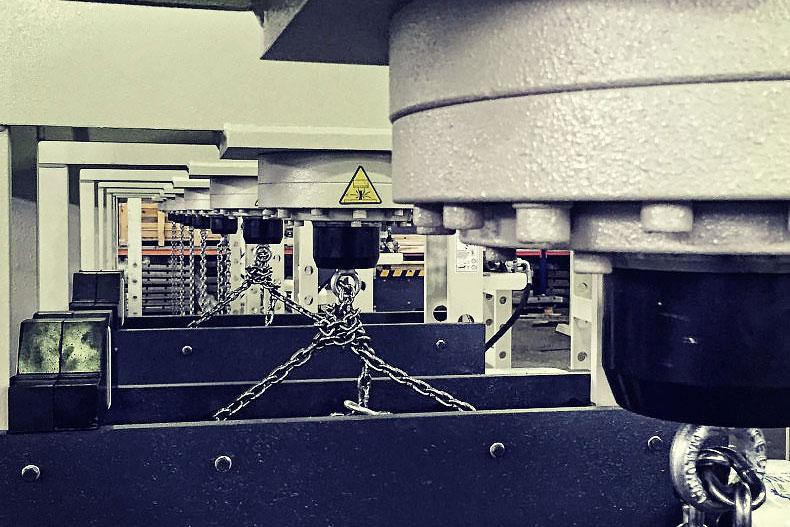 LFSS Şahin Makina Üretim Alanı, Production Area